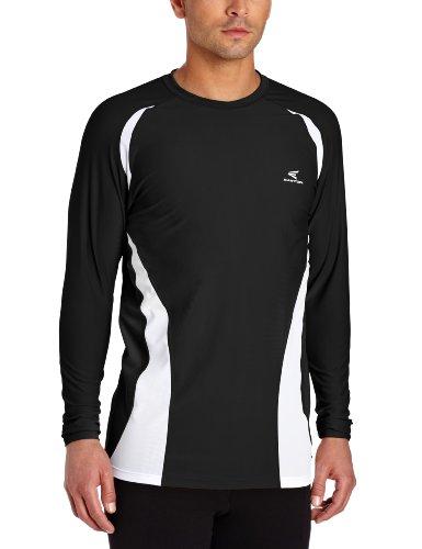 Easton Adult Qualifier Compression Shirt, Black, Medium
