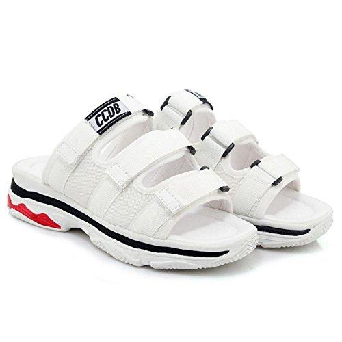 Sandales 8 Stratch TAOFFEN Chaussures White Compensées Femmes a5x77qwUn