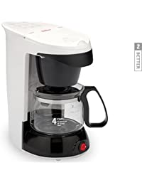 Sunbeam 4 Cup Coffemaker * White Model 3226 Advantages