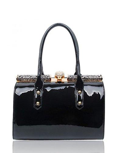 Chloe Tote Bag Black - 8