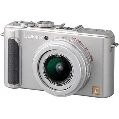 Panasonic DMC-LX3S 10.1MP Digital Camera with 2.5x Wide Angle MEGA Optical Image Stabilized Zoom (Silver)