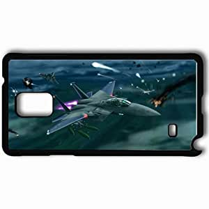 Personalized Samsung Note 4 Cell phone Case/Cover Skin Ace Combat Black