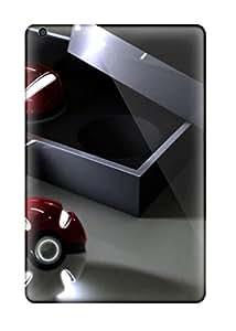 New Snap-on LarryJames Skin Case Cover Compatible With Ipad Mini/mini 2- 3d Pokemon Poke