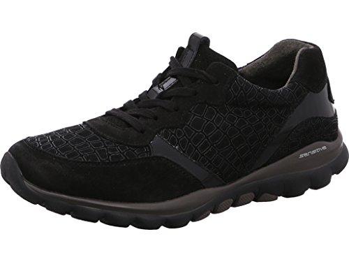 Gabor Negro mujer cordones de para negro 36 968 Zapatos 37 RgTR6Z