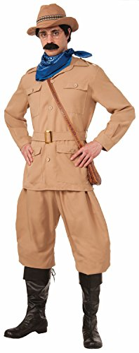 Theodore Roosevelt Costume - Standard - Chest Size up to 42