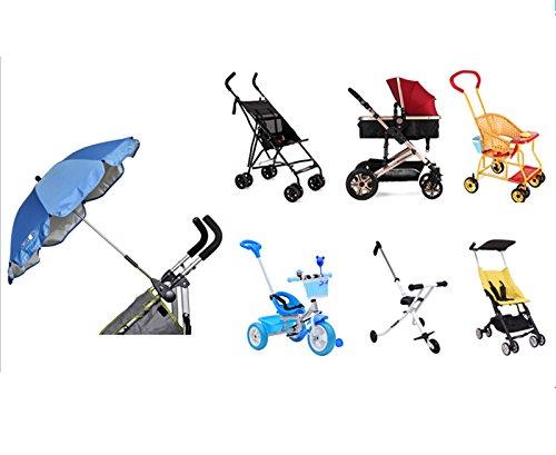 iRibbons Baby Stroller Umbrella Trolley Umbrella Baby Trolley Walker Baby Carts Cover Stroller Accessories (Light green) by iRibbons (Image #6)
