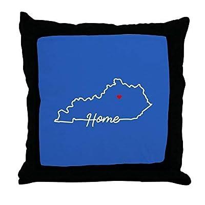 Pattebom Kentucky Home Lexington Canvas Throw Pillow Covers 18 x 18 Home Decor Farmhouse Throw Pillows Case Cushion Covers Decorative for Gifts