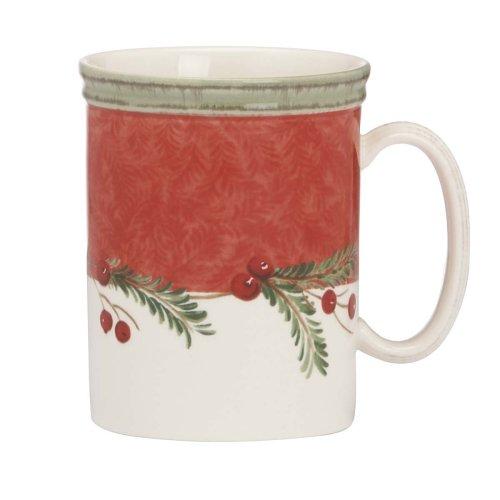 Lenox Holiday Gatherings Wreath Mug