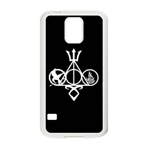 wugdiy Personalized Durable Case Cover for SamSung Galaxy S5 I9600 with Brand New Design The Hunger Games