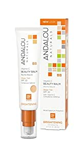 Andalou Naturals Beauty Balm All in One Sheer Tint with SPF 30
