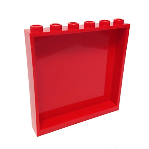 Lego-Parts-Panel-1-x-6-x-5-Red
