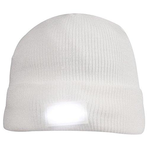5 LED Knit Flash Light Beanie Hat Cap for Night Fishing Camping Handyman Working