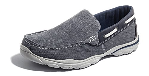 Slip MORENDL Grey Lightweight Leisure on Casual Loafer Walking Footwear Blue Super rCCHWt