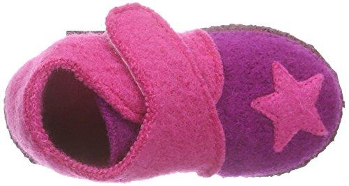 NangaStern - Zapatillas de casa Bebé-Niños Varios Colores - Mehrfarbig (Beere 28)