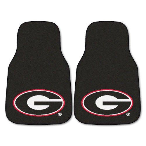 Georgia Car Mats - Fanmats NCAA University of Georgia Bulldogs Nylon Face Carpet Car Mat