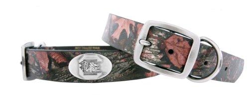 Zep-Pro South Carolina Fighting Gamecocks Camouflage Leather Concho Dog Collar, Large