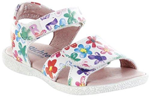 Richter Glattleder Mädchen Weiß Sandaletten Kinder Schuhe Panna 5001-344-0400 Sissi