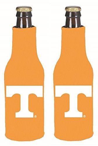 (NCAA College 2014 Team Logo Color Bottle Suit Holder Holder Koozie Cooler 2-Pack (Tennessee Volunteers) )