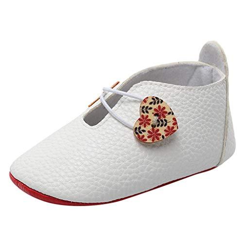 YKARITIANNA Newborn Baby Girls Boys Cartoon Shoes Sandals First Walkers Soft Sole Shoes 2019 Summer White