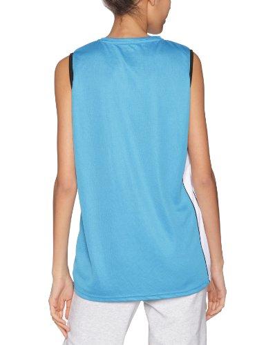 Spalding 4her - Camiseta de baloncesto para mujer, color azul turquesa