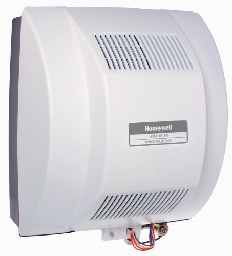 Honeywell HE360A1075 HE360A Whole House Humidifier light gray