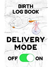 Birth Log Book: Birthing Memory Record Book for Midwives and Doulas - White Marble