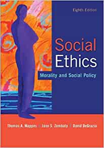 Social ethics morality and social policy 8th edition