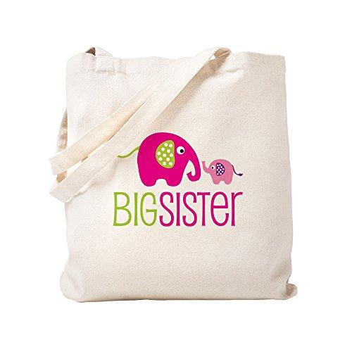 Cafepress Lona Caqui Bolsa Sister Big Tote Small Elephant rRfqrU