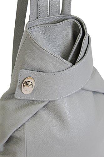 dos à loisir Sac Blanc 2 AMBRA GL014 weiß Türkis Moda wSnAqIx