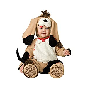 InCharacter Costumes Baby's Precious Puppy Costume, Tan/Black/White, 18-24 Months