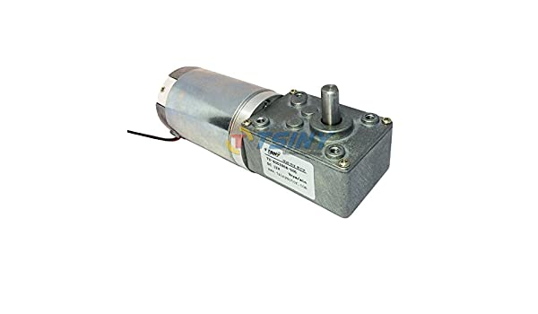 BBQ Replacements Small DC 12v High Torque 9 RPM Electric Worm Gear Motor Driver
