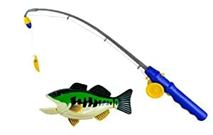 PennToy Bass Fishing Bathtub Toy - Swimming Fish by The Pennsylvania Toy Co.