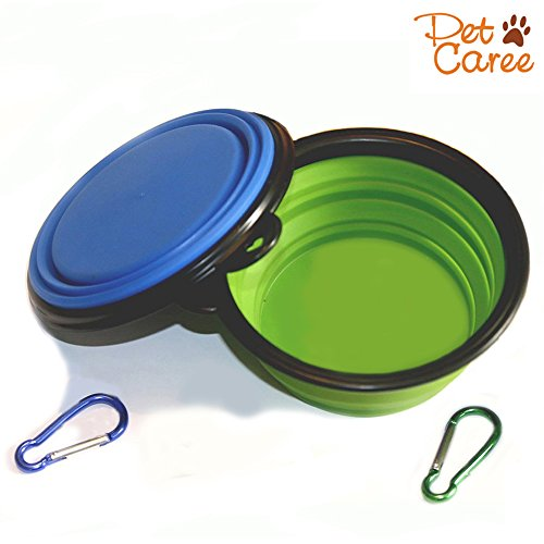 Travel Collapsible 2 Pack Portable Silicone