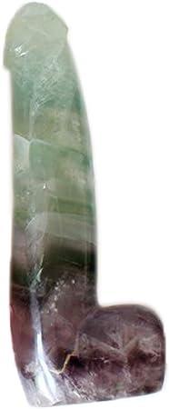 CARVED Healing SATIN SPAR SELENITE Massage Wand Crystal with Description