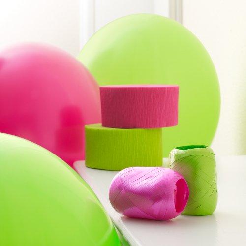 BirthdayExpress Hot Pink & Lime Green Decorating Kit