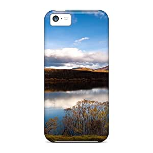 Cute Appearance Cover/tpu Lake Hayes In New Zeal Case For Iphone 5c