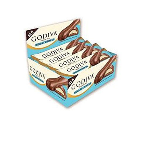 Godiva Chocolate Biscuits (Godiva Chocolate N Creme Bar, 12 Count (CHOC. CANDY - PREMIUM))
