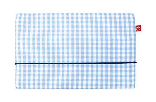 La Fraise Rouge 4251005603109 bolsa de pañales Pascal, Vichy Karo, azul claro / blanco