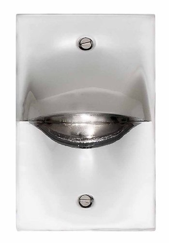 DVI Lighting DVP10708CH Indoor/Outdoor Steplight with No Shades, Chrome Finish