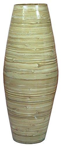27.5″ Tall Bamboo Floor Vase (Natural)