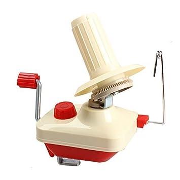 Olayer Wool Winder Bobinoir à laine tricoter tricot machine main pelote yarn winder Bobinoir à laine Couleur Rouge /crème