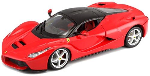 Bburago 1:24 Scale Ferrari Race and Play LaFerrari Diecast Vehicle (Colors May Vary) (Scale Model Ferrari)