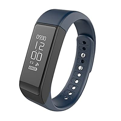Fitness Tracker,Semaco Wireless Smart Bracelet with OLED Display Bluetooth Pedometer Sleep Monitor Activity Wristband for iPhone Samsung Android and iOS Smartphones