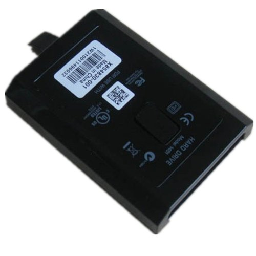 120g HDD for Xbox 360 Slim Black Color 120gb by 711TEK