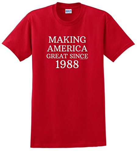 Birthday Gifts For All 30th Making America Great Since 1988 T-Shirt