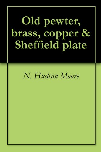 Old pewter, brass, copper & Sheffield plate