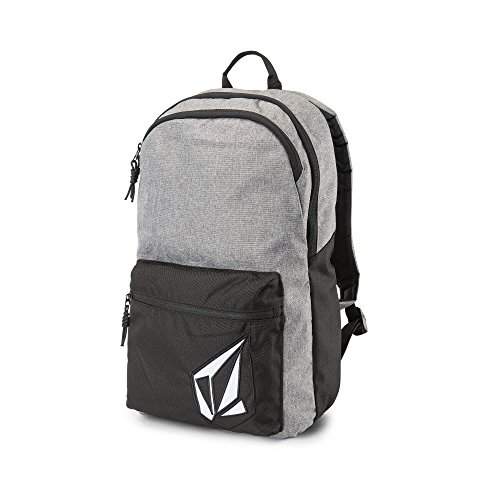 Embroidered Backpack Volcom - Volcom Men's Academy Backpack, black grey, One Size Fits All
