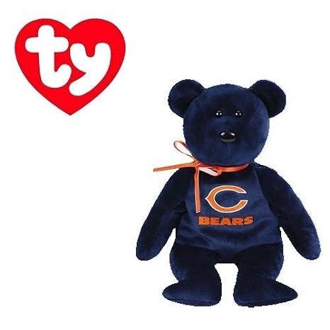 0a25f3689df Amazon.com  Ty Beanie Baby Chicago Bears Football Bear  Toys   Games