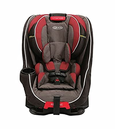 Graco Baby Head Wise Car Seat With Safety Surround Protection Black Red