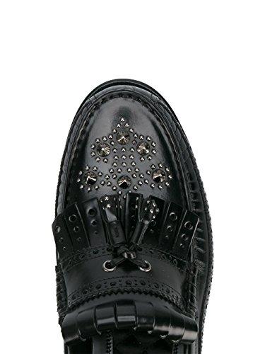 Dolce E Gabbana Homme A30055AC46080999 Noir Cuir Mocassins